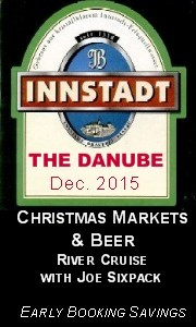Drink Beer There River Cruise to the Danube with Joe Sixpack December 2015