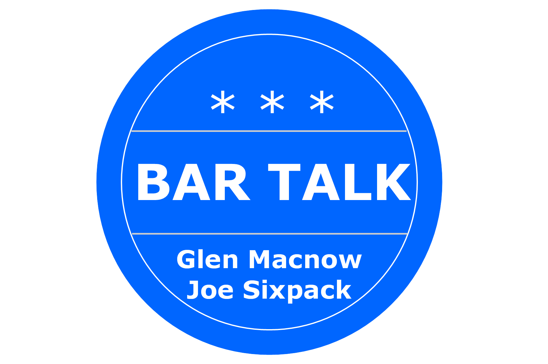 What To Talk About At A Bar