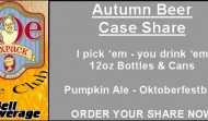 Joe Sixpack Case Club fall beer call for orders