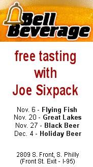 Joe Sixpack at Bell Beverage