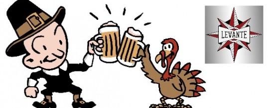 Beer Radar: Turkey Eve at Levante. PLUS: LaBan rates the newbies