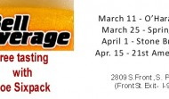 Bend an elbow with Joe Sixpack at Bell Beverage