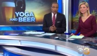 Happy Hour Yoga on CBS-Philly