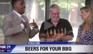 Joe Sixpack with cookout beer suggestions on Fox29